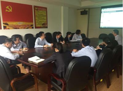惠山分中心开展员工学习月活动