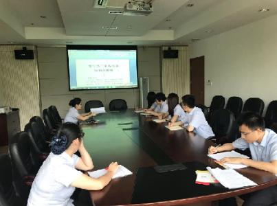 惠山分中心开展青年职工业务培训