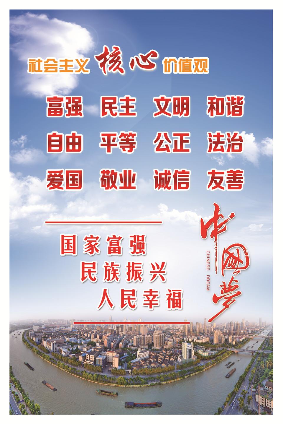 社会主义核心价值观和中国梦