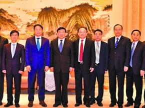 韩国SK集团高层来访