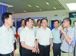 徐州市党政代表团来锡考察