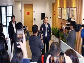 李小敏赴无锡日报报业集团、无锡广电集团调研