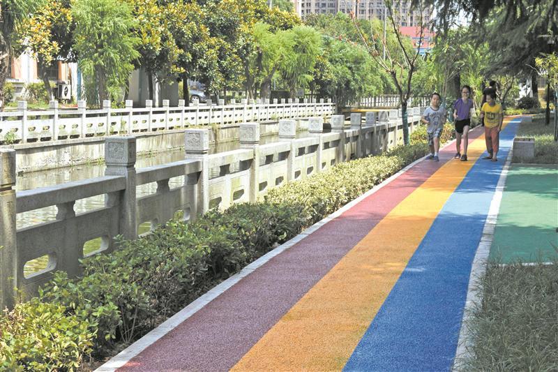 """无锡市安置房小区有了""""彩虹""""休闲..."""